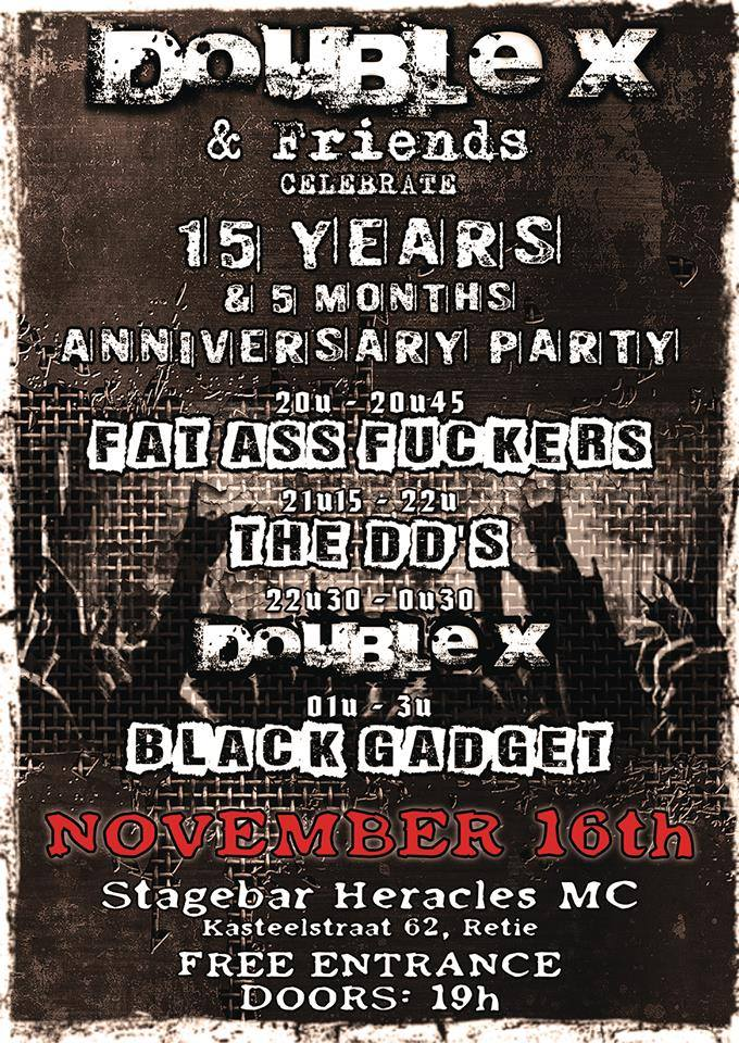 15 year Double-x affiche